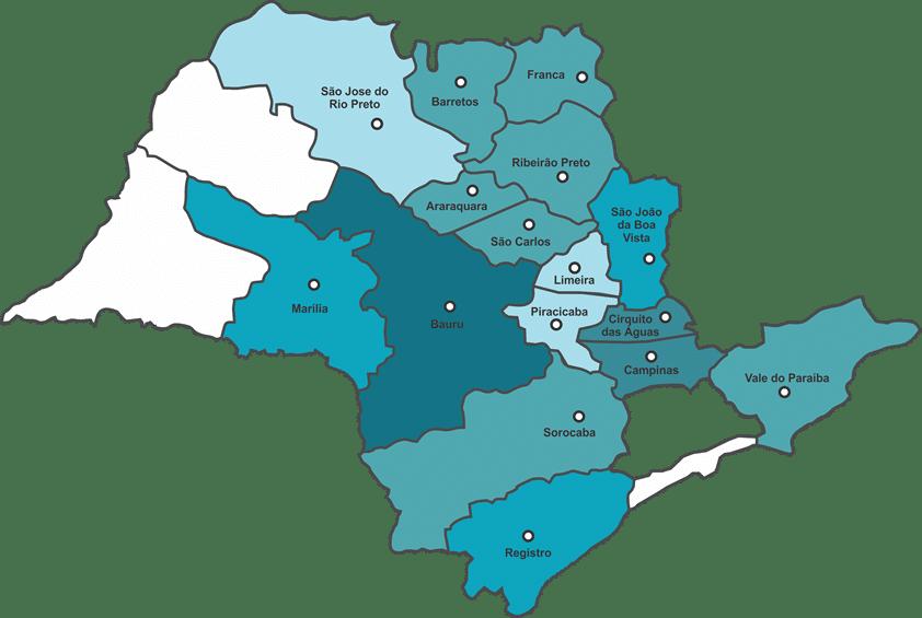 Área de Atendimento: Estado de São Paulo