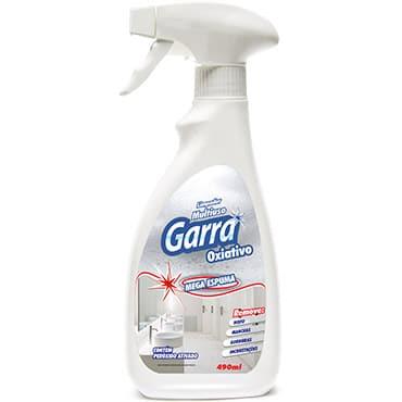 Desinfetante Bactericida e Detergente Garra Pronto Uso