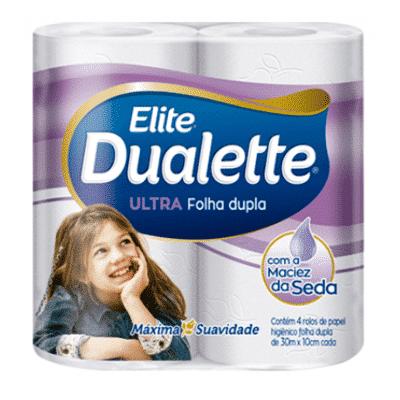 Dualette Folha Dupla Neutro