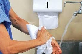secador de maos ou papel toalha