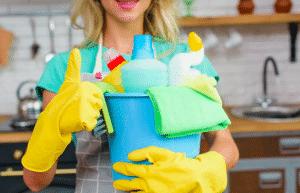Redução de custo material limpeza