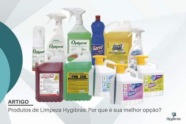 Produtos de Limpeza Hygibras