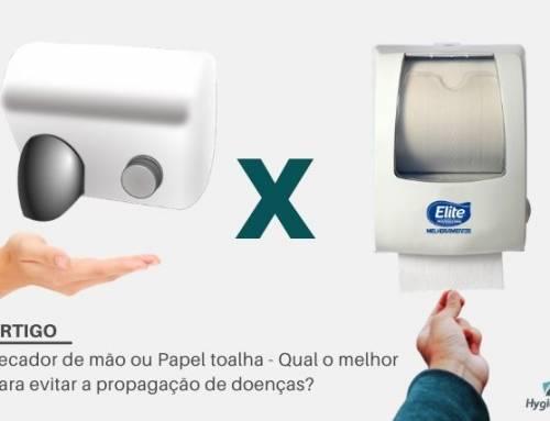 Secador de mão ou Papel toalha – Qual o melhor para evitar a propagação de doenças?