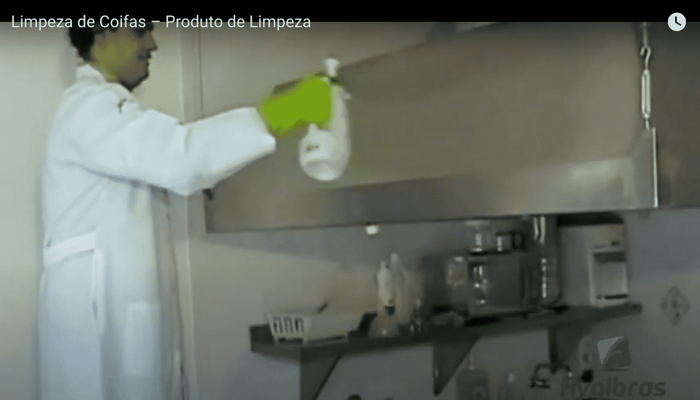 Limpeza de coifas