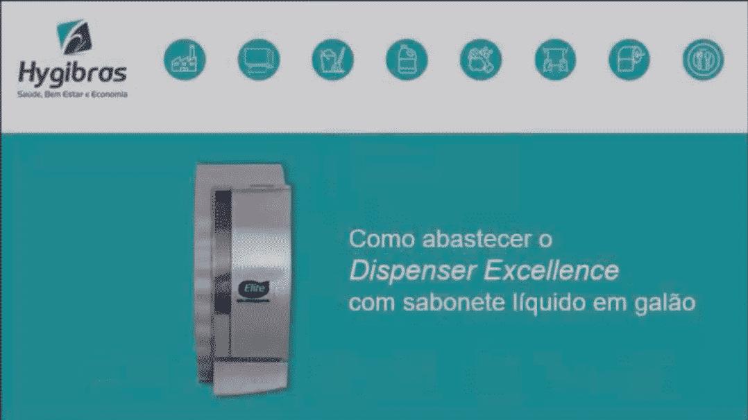 Dispenser sabonete líquido em galão de 5 litros