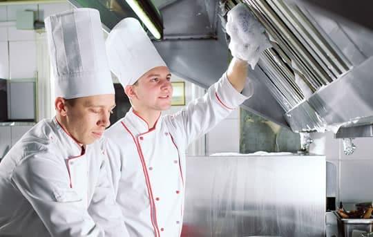 Limpeza Cozinha Industrial