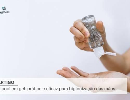 Álcool em gel: prático e eficaz para higienização das mãos