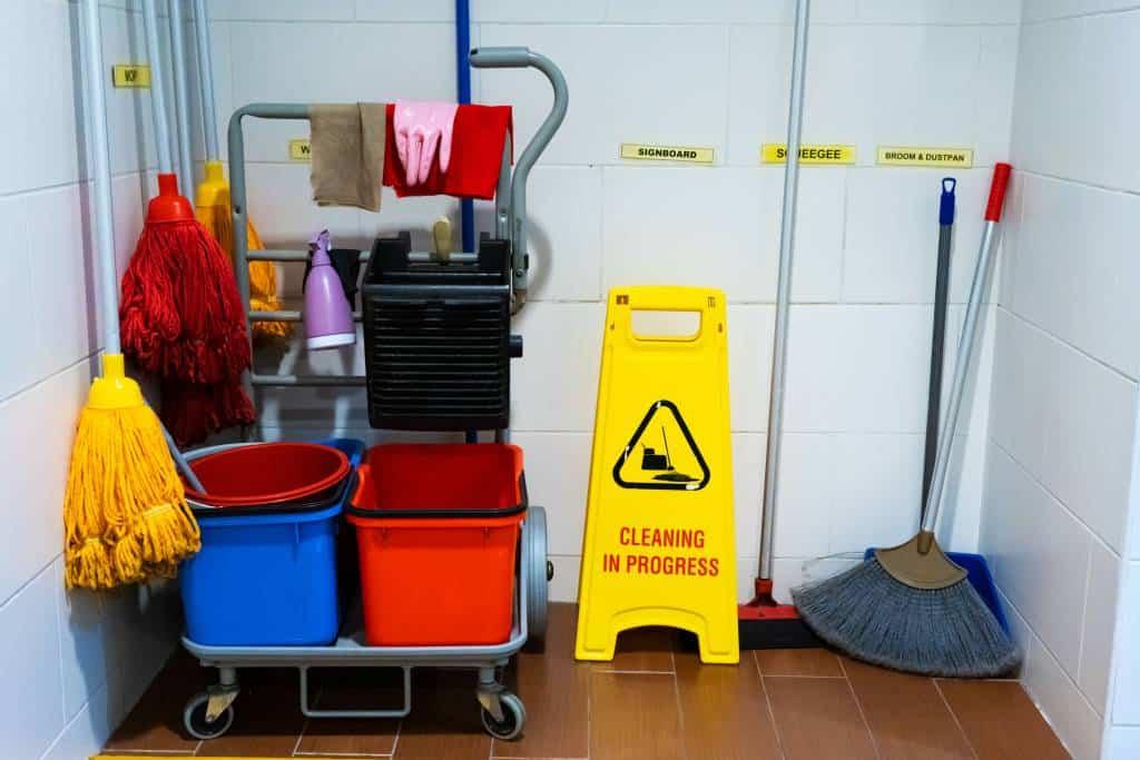 Depósito de Material de Limpeza