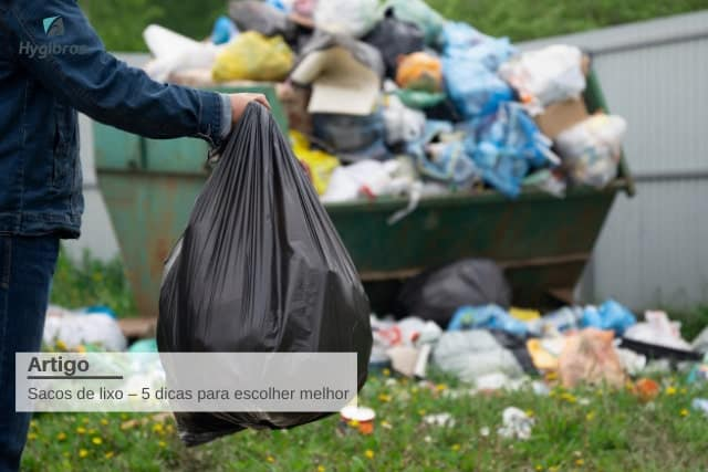 sacos de lixo