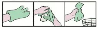 saquinho para descarte absorvente