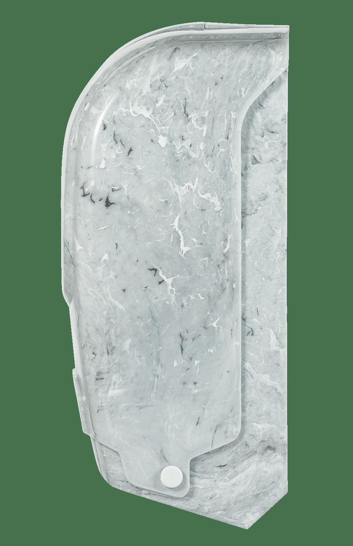 suporte papel higienico rolao marmorizado